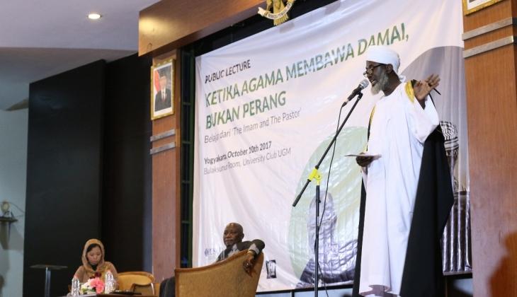 Kuliah Umum bersama Imam Ashafa dan Pastor James