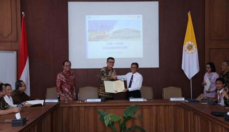 UGM Jalin Kerja Sama dengan PT. Candra Asri Petrochemical