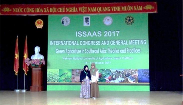 Mahasiswa Biologi UGM Ikuti Konferensi Internasional di Vietnam