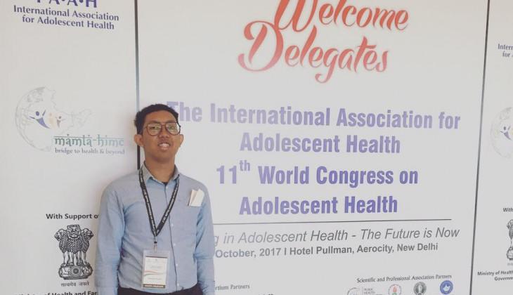 Mahasiswa Psikologi UGM Ikuti Kongres Dunia Kesehatan Remaja di India
