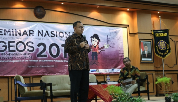 Sudirman Said Bahas Keberlanjutan Pembangunan dalam GEOS 2017