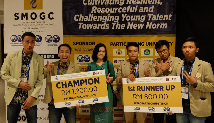 Mahasiswa FT UGM Juara Kompetisi Geosains Internasional