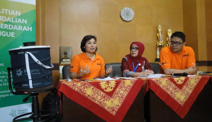 Kasus DBD Yogyakarta Menurun, Pengaruh Nyamuk Wolbachia?