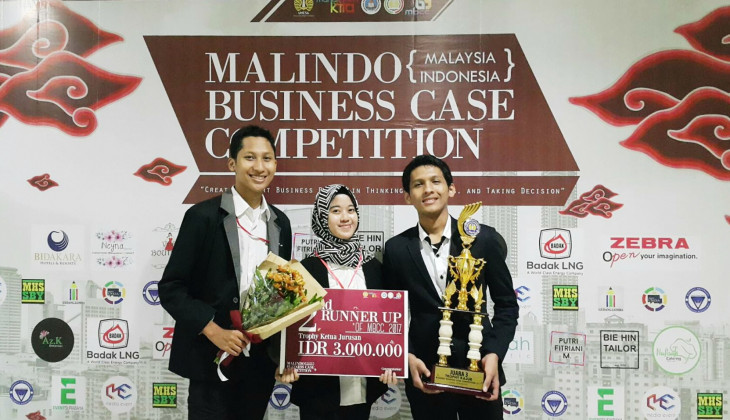 FEB UGM Juara III Malaysia-Indonesia Business Case Competition