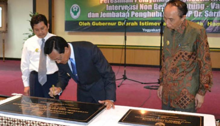 Jembatan Penghubung Fakultas Kedokteran- RSUP Dr. Sardjito UGM Diresmikan