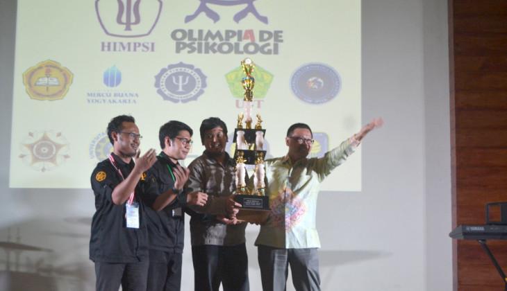 UGM Juara Umum Olimpiade Psikologi Indonesia