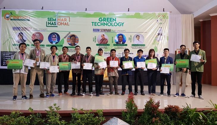 Mahasiswa Teknik Kimia Sapu Bersih Penghargaan di CERCo 2017