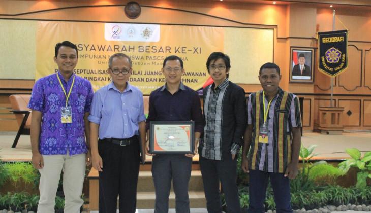Zaidan Zikri Malem Terpilih Ketua HMP UGM periode 2018
