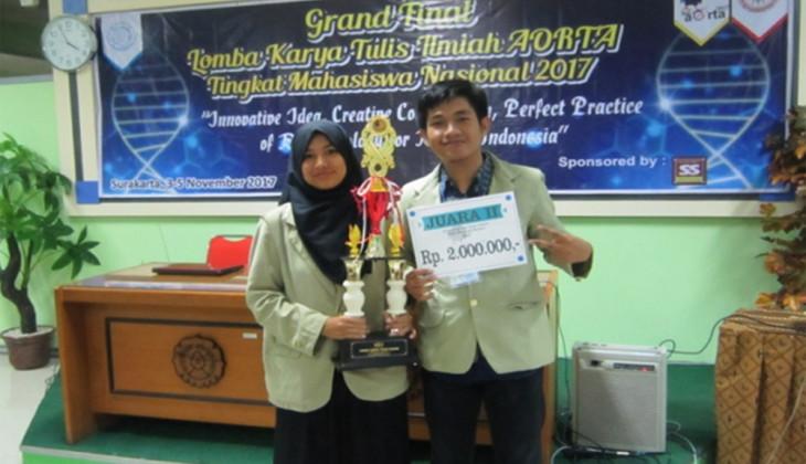 Mahasiswa Biologi UGM Raih Dua Gelar Juara LKTI AORTA