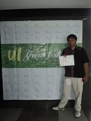 UGM Juara 1 Business Challenge Greenpreneurship 2012