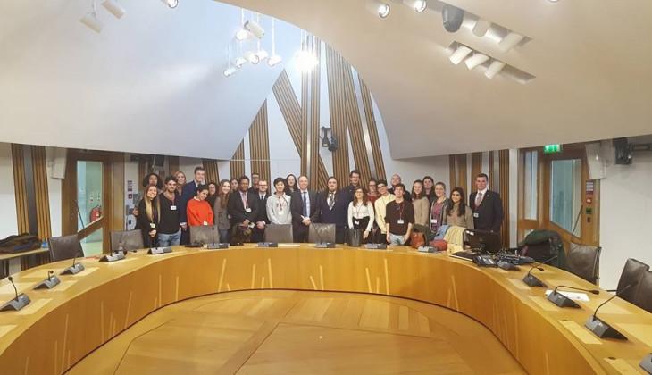 Mahasiswa UGM Berpartisipasi Dalam Simulasi Sidang PBB di Skotlandia