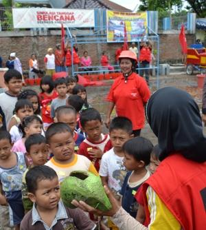 Minim, Pengenalan Simulasi Tanggap Bencana Bagi Anak-anak
