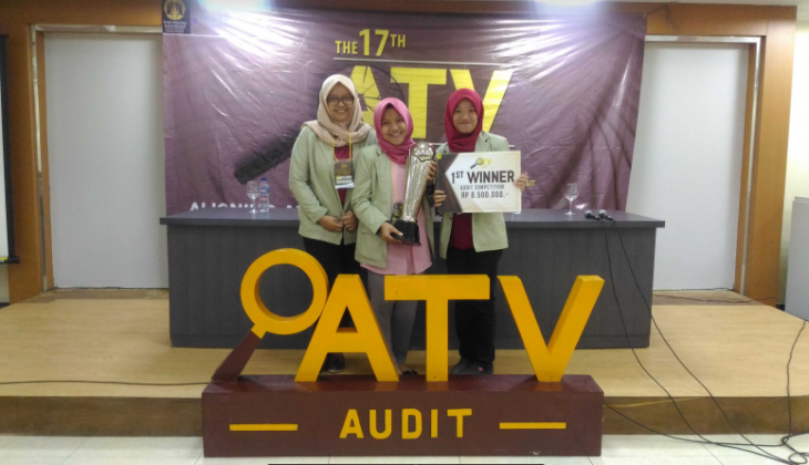 Mahasiswa UGM Juara Pertama ATV Audit Competition