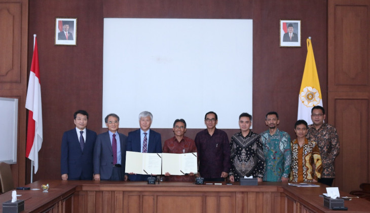 UGM dan Gangneung-Wonju National University Jalin Kerja Sama