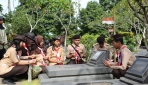 Jelang Dies Natalis, Dharma Wanita UGM Ziarah ke Makam Para Pendiri UGM