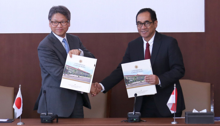 UGM Jalin Kerja Sama Dengan NTT Data Coporation