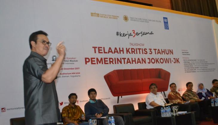 Jokowi Diminta Optimalkan Kinerja di Dua Tahun Sisa Masa Kepemerintahannya