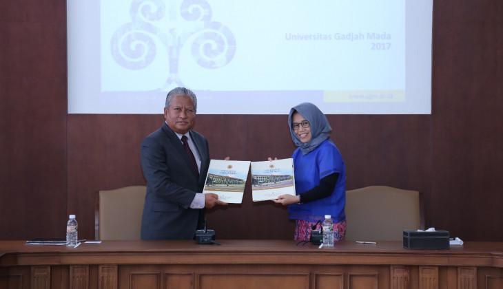 UGM Menjalin Kerjasama dengan Universiti Malaysia Kelantan