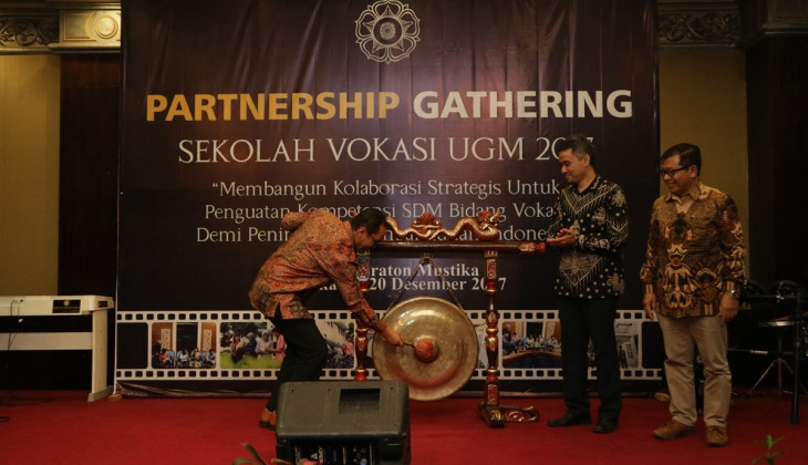 Sekolah Vokasi UGM Gelar Partnership Gathering