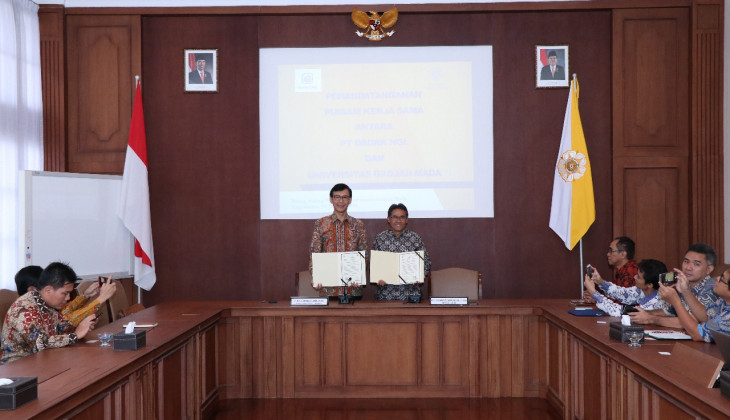 UGM dan PT. Badak NGL Jalin Kerja Sama