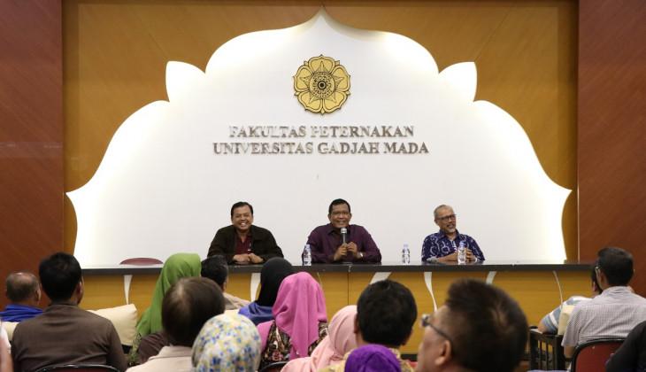 Fakultas Peternakan UGM Gelar Kuliah Umum Bagimu Petani Kami Mengabdi