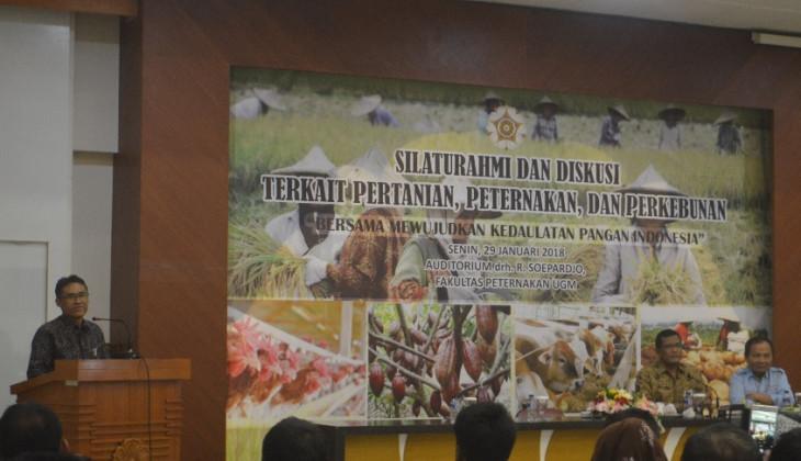 Rektor UGM Yakin Indonesia Mampu Wujudkan Kedaulatan Pangan