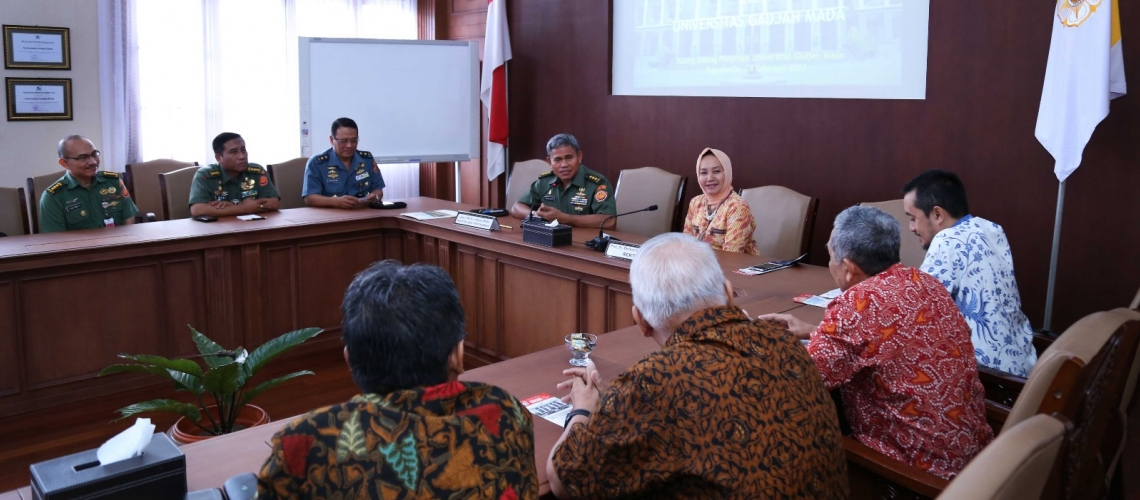 Cooperation between UGM and Defense University