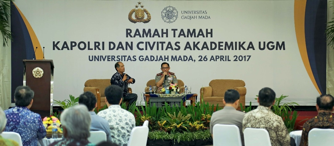 Meet and greet: Chief of National Police and UGM academic community