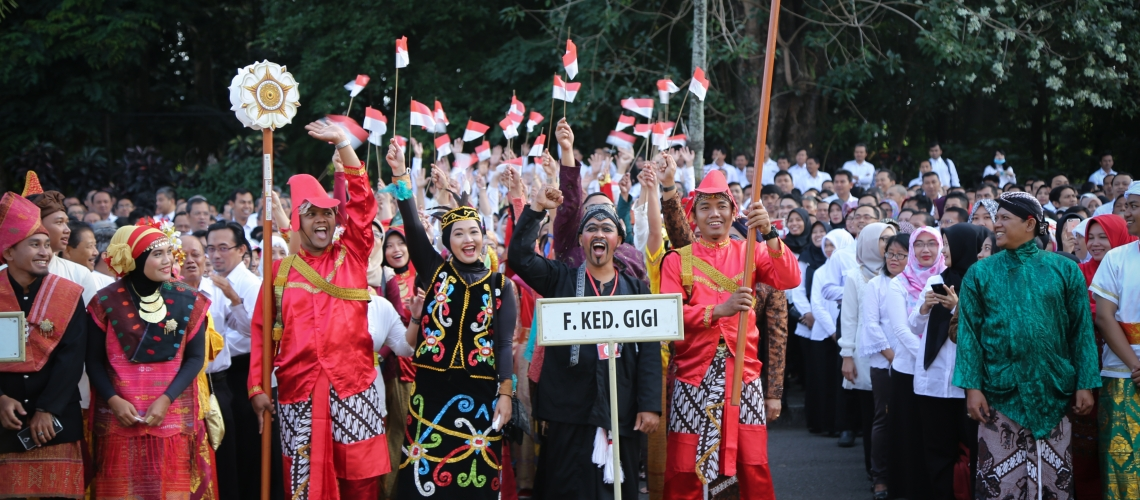 Ceremony to Celebrate 72nd Indonesian Independence Day
