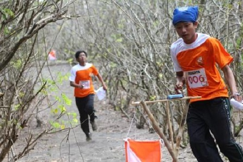 Indonesian Student Orienteering Competition 2012