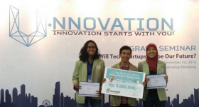 "Aplikasi ""Little Tree"" Mengantarkan UGM Juara Kompetisi U-Nnovation 2016"