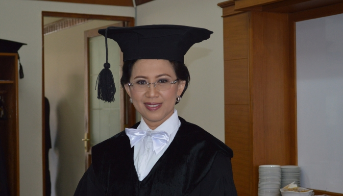 Prof. Ova Emilia, First Professor in Medical Education