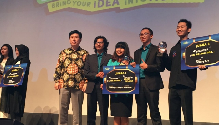UGM Students Win Samsung Ideaction Competition