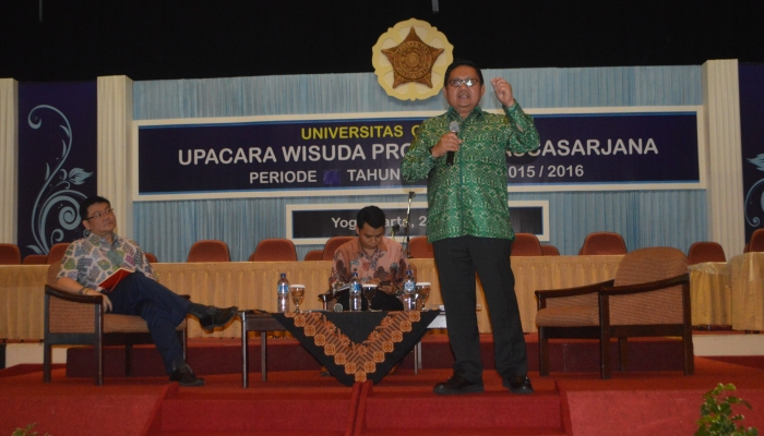 UGM Alumni Have to Be Innovative and Have Integrity