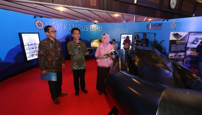 UGM Showcases Research Products at UGM Expo 2016