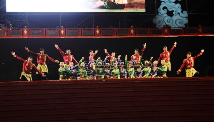 Rampoe UGM Makes Indonesia Proud at Taiwan Folklore Festival