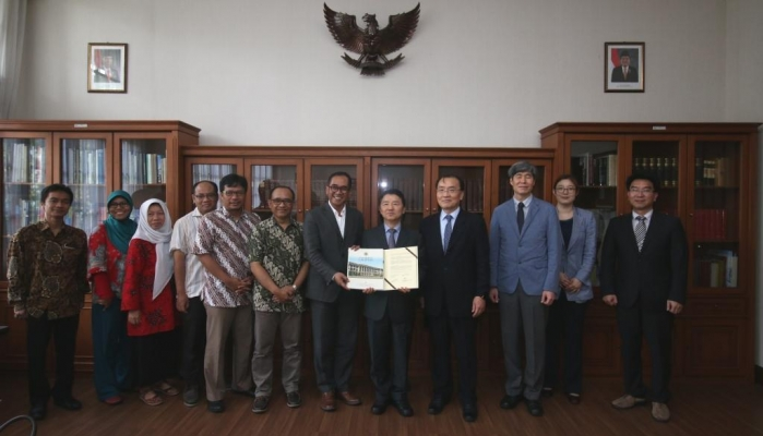 UGM Establishes Cooperation with Korean National Institute of Forest Science