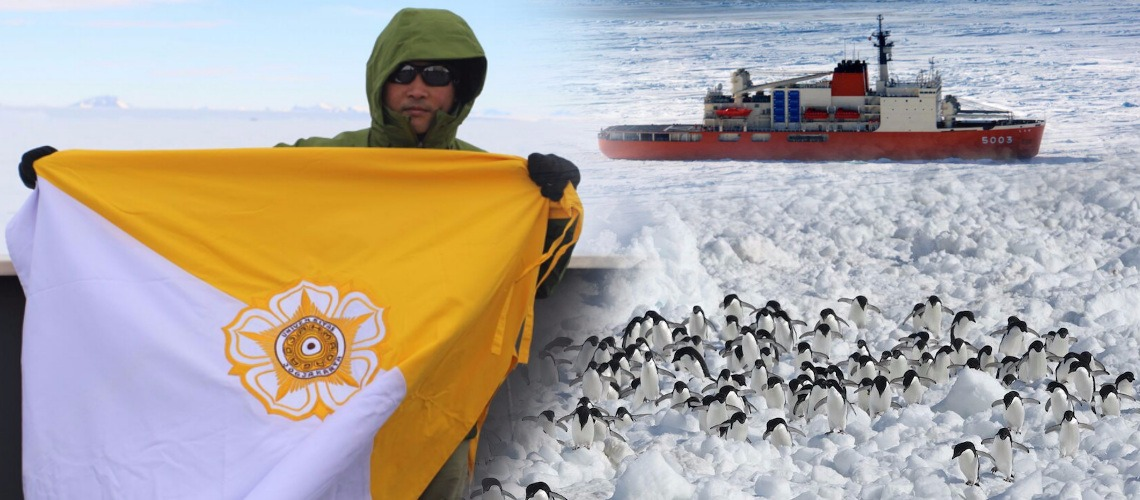 UGM Lecturer on Research in Antarctic
