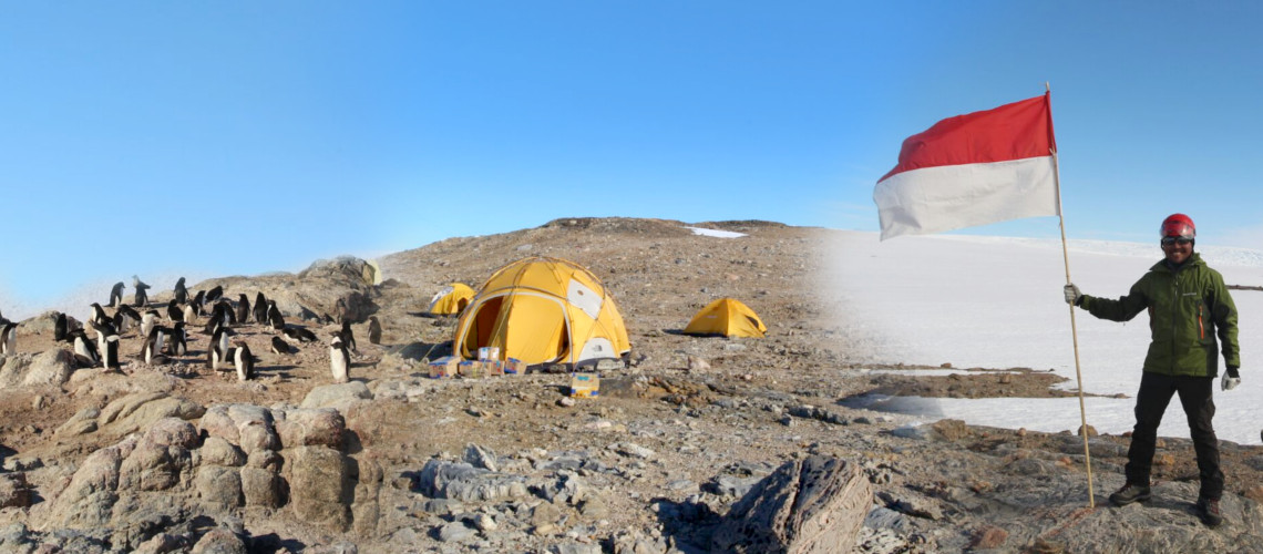 UGM Geologist on Antarctica Expedition
